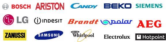 marki pralek które naprawiamy we wrocławiu